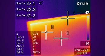 Fotovoltaico Termocamera