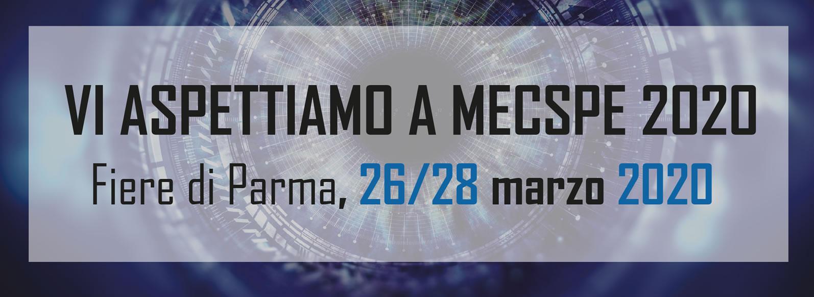 Vi aspettiamo a MECSPE 2020